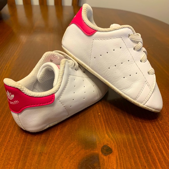 Baby girl Adidas shoes.